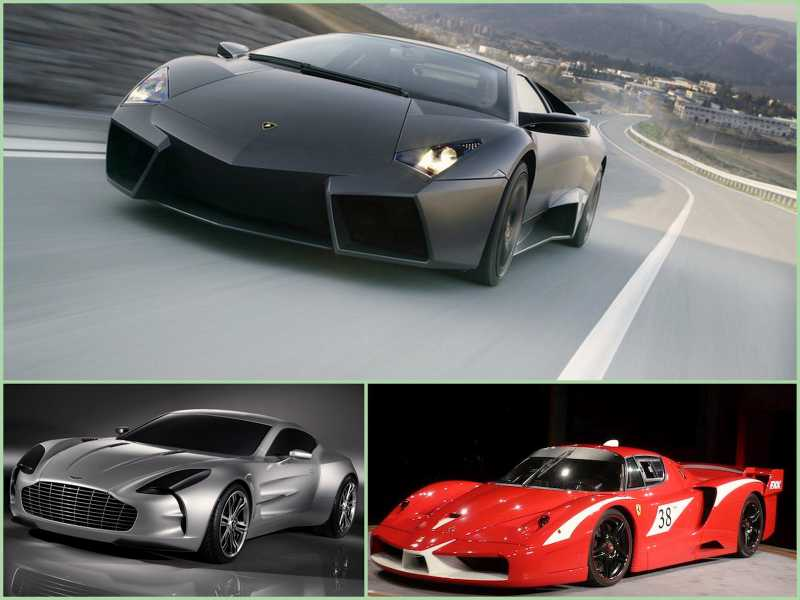TYPES Of CARS In World AerMech - Sports cars types