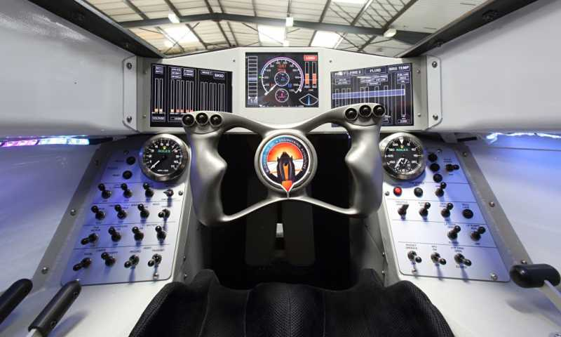 Bloodhound Ssc The Car With Eurojet Engine Aermech
