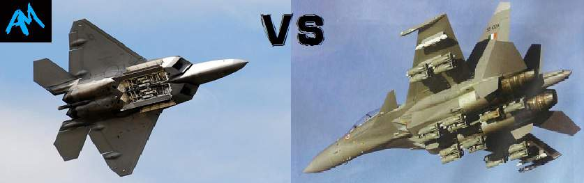 F-22 Raptor VS SU-30Mki –Let the fight begins - AerMech