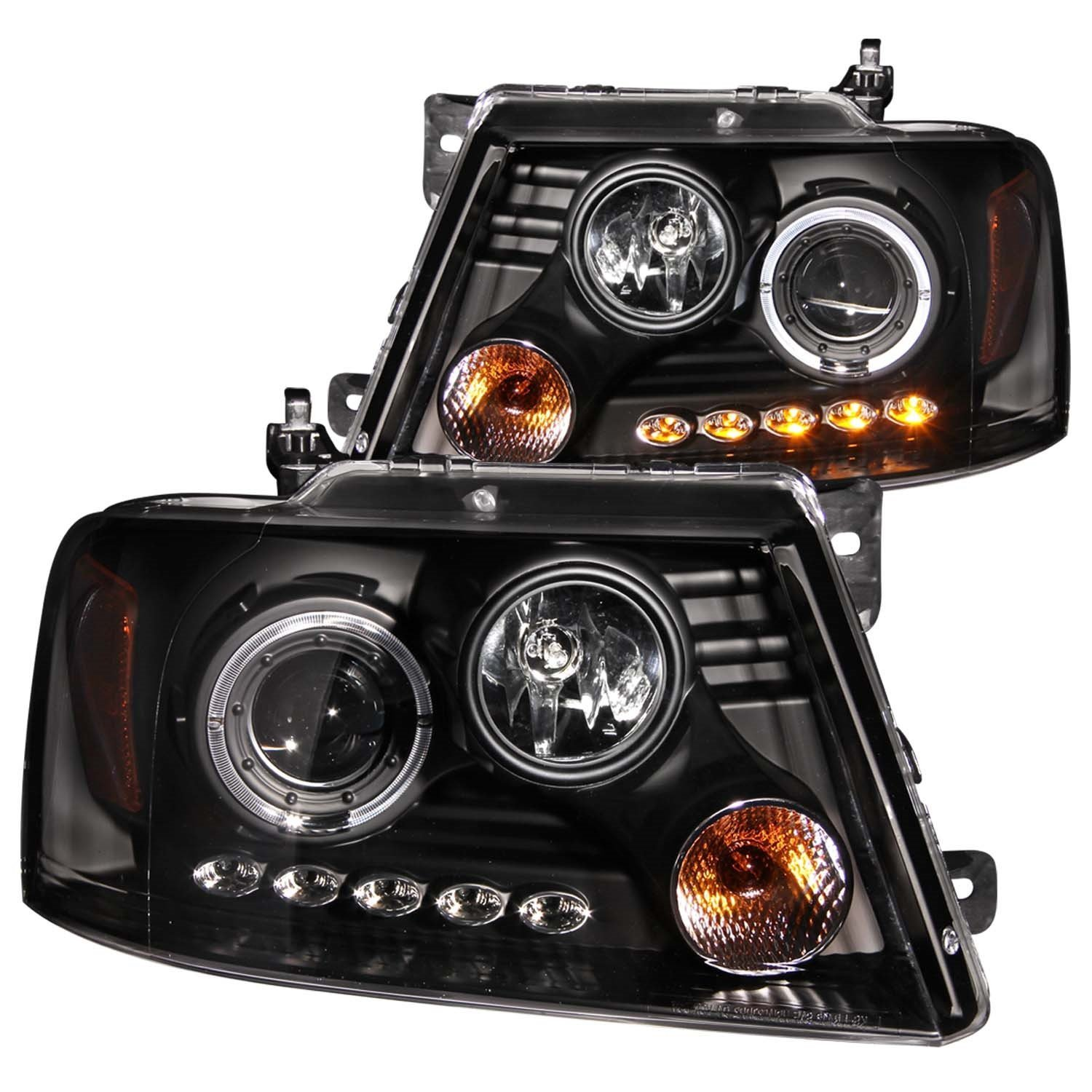 5 most attractive custom f150 led projector headlights for. Black Bedroom Furniture Sets. Home Design Ideas