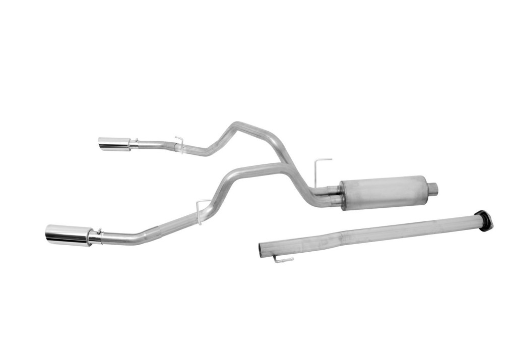 5 Gibson 69545 Stainless Dual Split Rear Performance Catback Exhaust System: Best Exhaust System For Ford F150 At Woreks.co