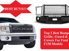 Top 5 Best Bumper Grille, Guard & Covers For Ford F150 Models |Best Buys